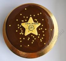 муссовый торт звезда