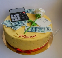 торт бухгалтеру