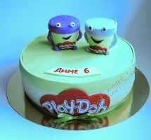 торт Play Doh (Плей До)