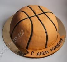 мастичный торт баскетболисту