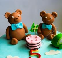 торт мишки Teddy (Тедди)