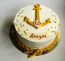кремовый торт моряку