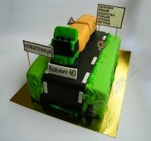 мастичный торт дальнобойщику