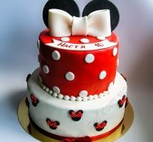 торт Минни Маус