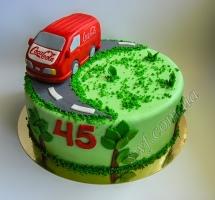 мастичный торт бус