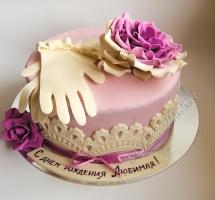 торт перчатки