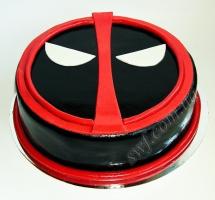 мастичный торт deadpool