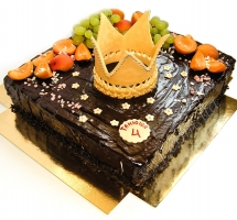 торт Корона (фруктовый)