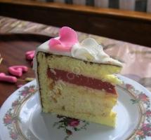 """торт """"Пеппа"""" в разрезе"""