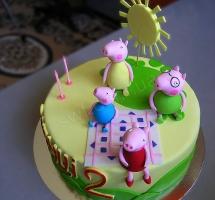 """торт """"Peppa"""" (свинка Пеппа)"""