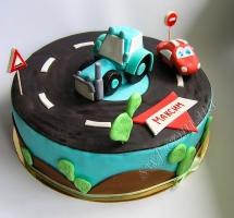 мастичный торт водителю