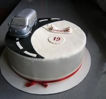 мастичный торт автомобилисту