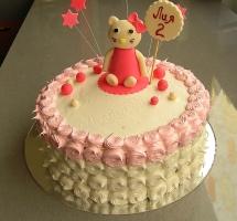 кремовый торт Китти
