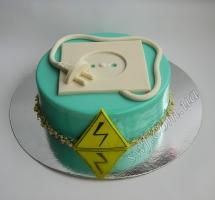 муссовый торт электрику