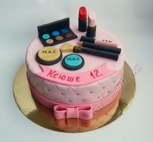торт визажисту