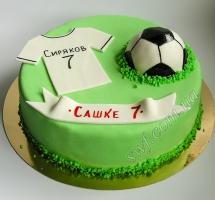 торт футболисту