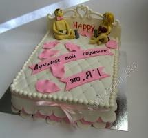 мастичный торт лучший подарок