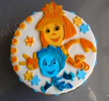 торт фиксики (аппликация)