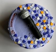 торт Ariana микрофон