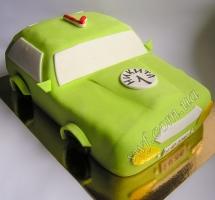 торт мастичный для детей в виде машины