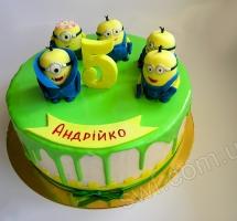 торт Миньоны (Minions)