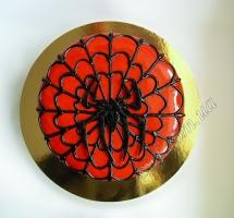 торт мастичный для детей спайдермэн