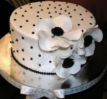 """торт """"белые маки"""""""